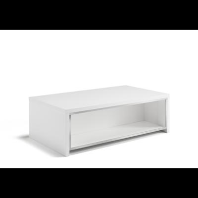 Table basse laqué CORTINA Chrome