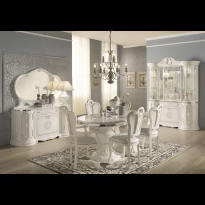 Meubles salle à manger laqué blanc GRETA
