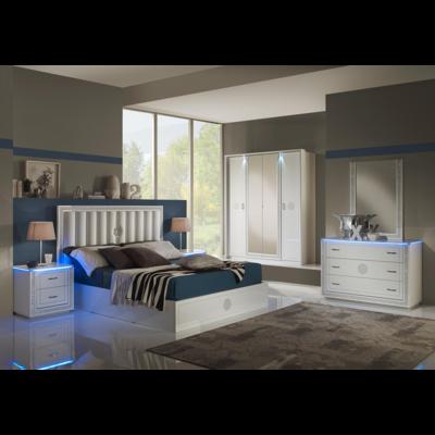 Chambre design LED CRISTAL