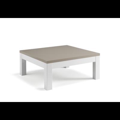 Table basse laqué gris ROMA