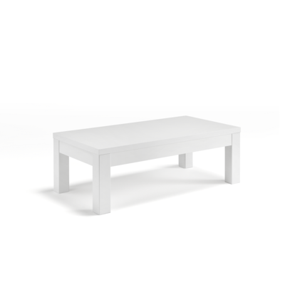 Table basse laqué blanc ROMA