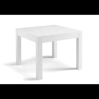 Table à manger et chaise laqué blanc ROMA