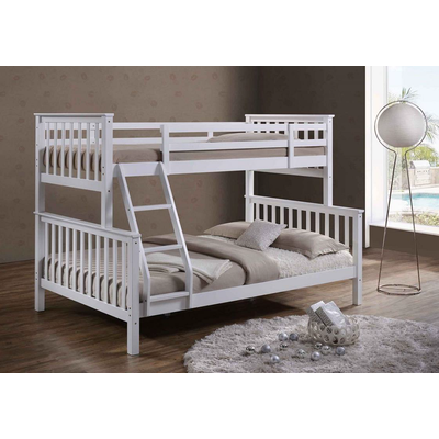 lit superpos 2 1 blanc elif superpos mezzanine pas cher. Black Bedroom Furniture Sets. Home Design Ideas