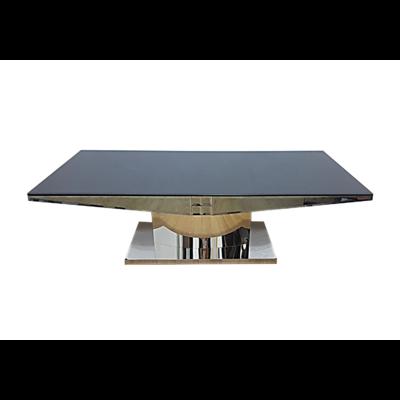 Table basse baroque chromé FIA