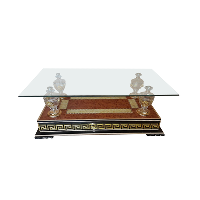 table basse chrom versace neo collection design pas cher. Black Bedroom Furniture Sets. Home Design Ideas