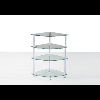 Table d'appoint verre trempé DIA