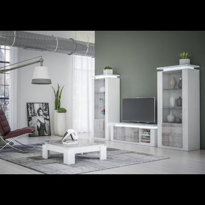 Ensemble meuble tv béton laqué RIVA