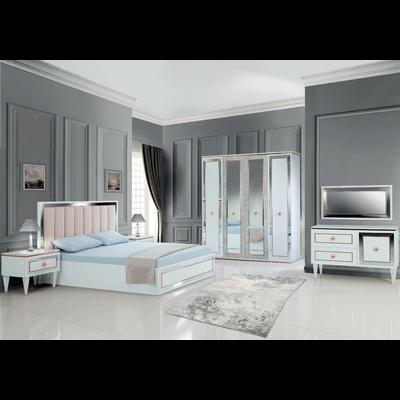 Chambre complète blanc marbre IMPÉRIALE
