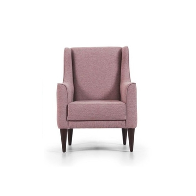 Fauteuil tissu rose New JERSEY
