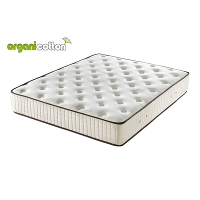 Matelas ressorts mousse organicotton LONDON