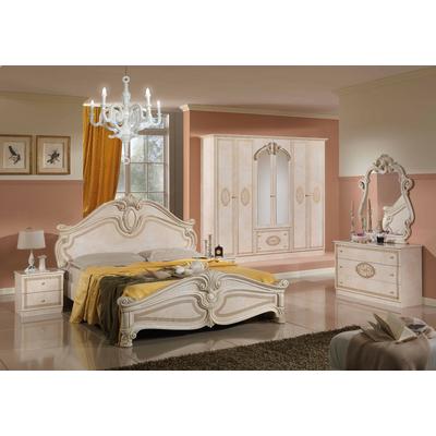 Chambre versace beige doré AMALFI