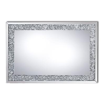 Miroir mural design diamant AVA