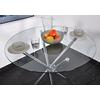 Table manger ronde chromé JOY-21