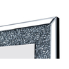 Miroir mural design led diamant AVA.1