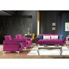 canapé-lit-coffre-tissu-velours-violet-golf