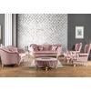 canapé-baroque-en-tissu-velours-rose-ekru