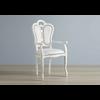 chaise-tissu-accoudoire-greta-blanc