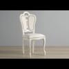chaise-cuir-cloute-argent-greta-blanc