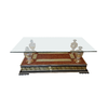 Table basse baroque dorée VERSA