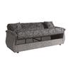 Canapé lit coffre oriental gris BUKET.2