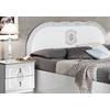 Chambre complète laqué blanc argent SOFIA-3