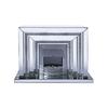 Cheminée électrique design miroir AVA