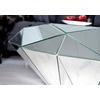 Table basse design miroir DIAMANT.3