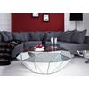 Table basse design miroir DIAMANT.6