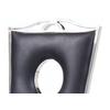 Chaises baroque chromé noir PIA.2