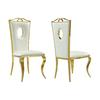 Chaises baroque doré blanc PIA