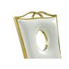 Chaises baroque doré blanc PIA-5