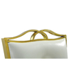 Chaises baroque doré blanc PIA-7