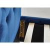 Lit capitonné strass bleu ANIS.3