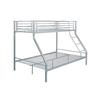Lit superposé 140+90 métal gris ELIF.3