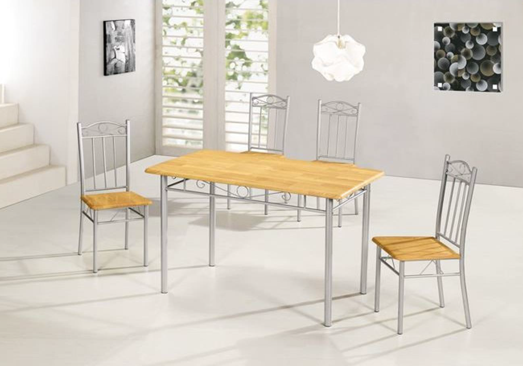 Ensemble Table + 4 Chaises TED