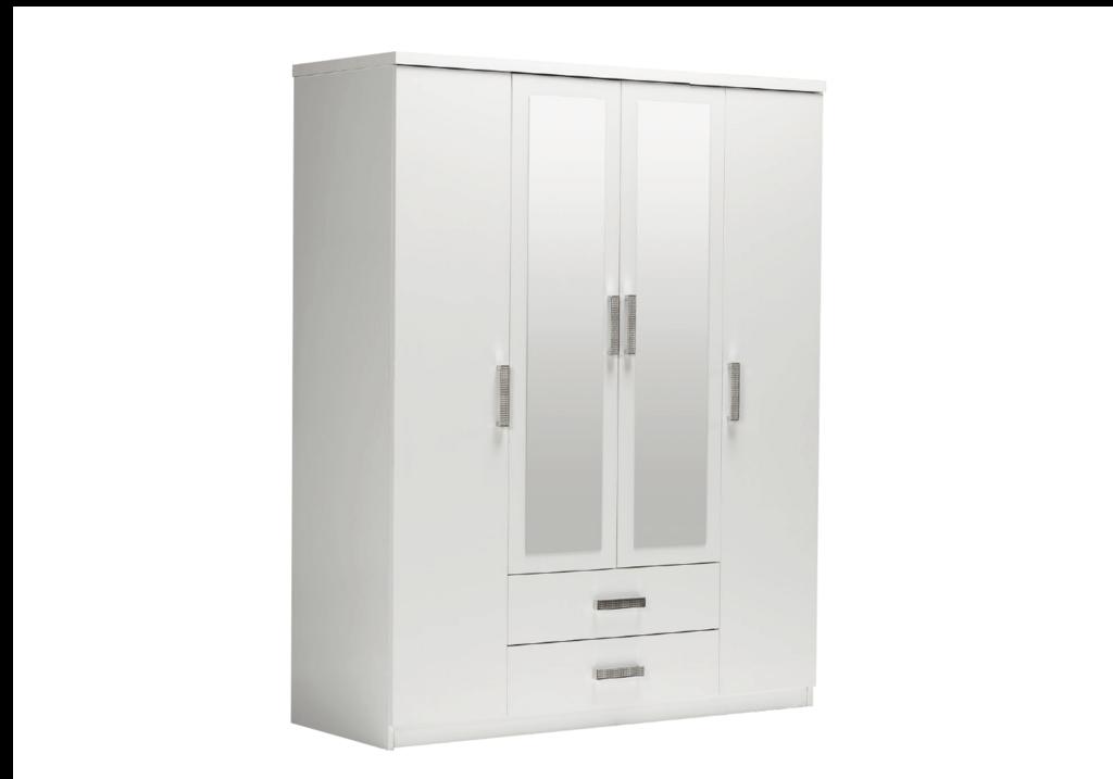 armoire-4-portes-2-tiroirs-blanc-palma