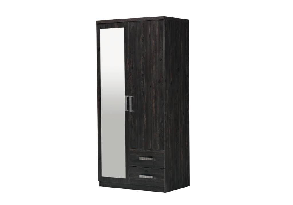 armoire-2-portes-2-tiroirs-wenge-cordoba