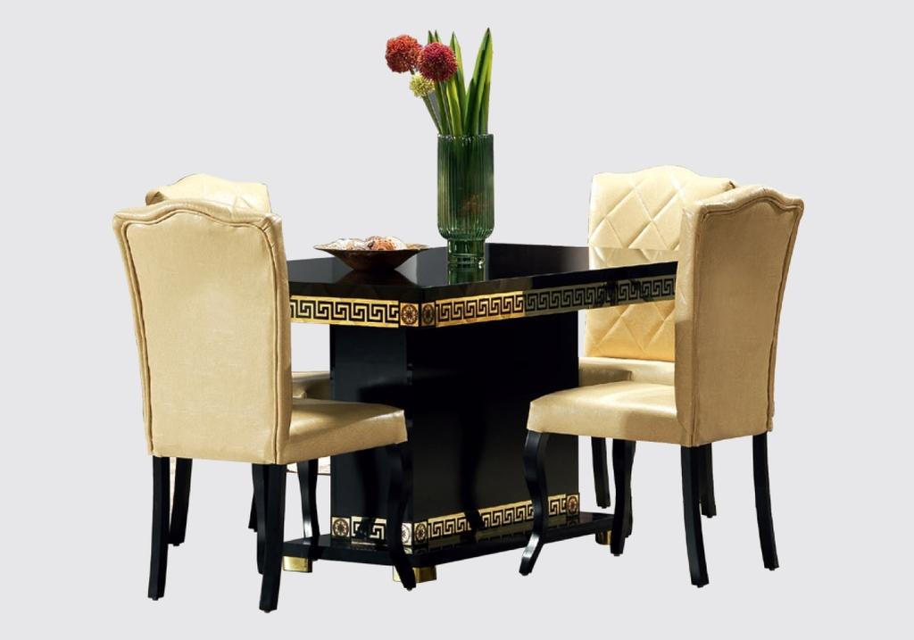salle-a-manger-versace-noir-doré-7