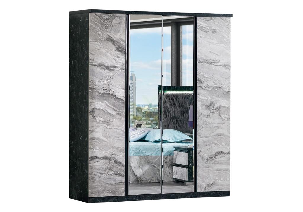 Chambre à coucher complète marbre CARRERA-6