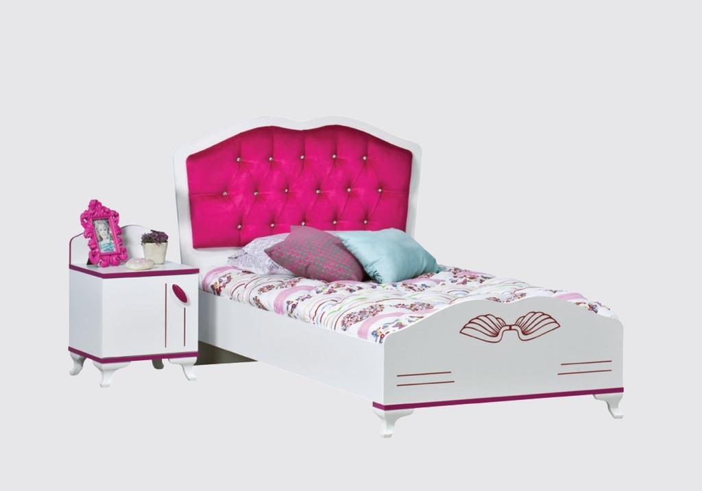 Chambre enfant fille rose ANGEL-2