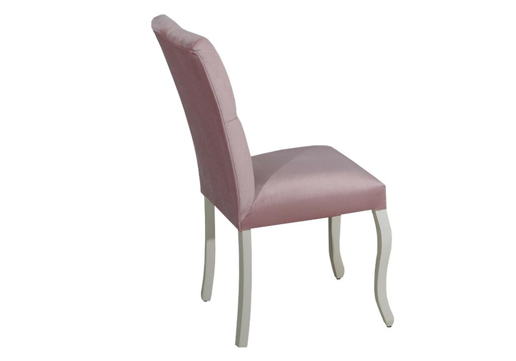 Chaise capitonné rose BAROK-2