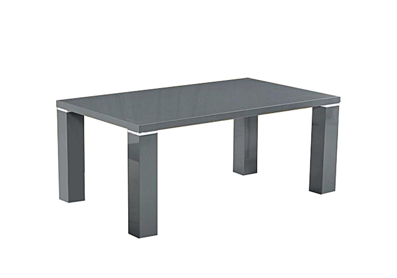 Table basse laqué gris UGO.1