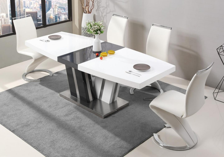 Table manger extensible laqué EDGE-10