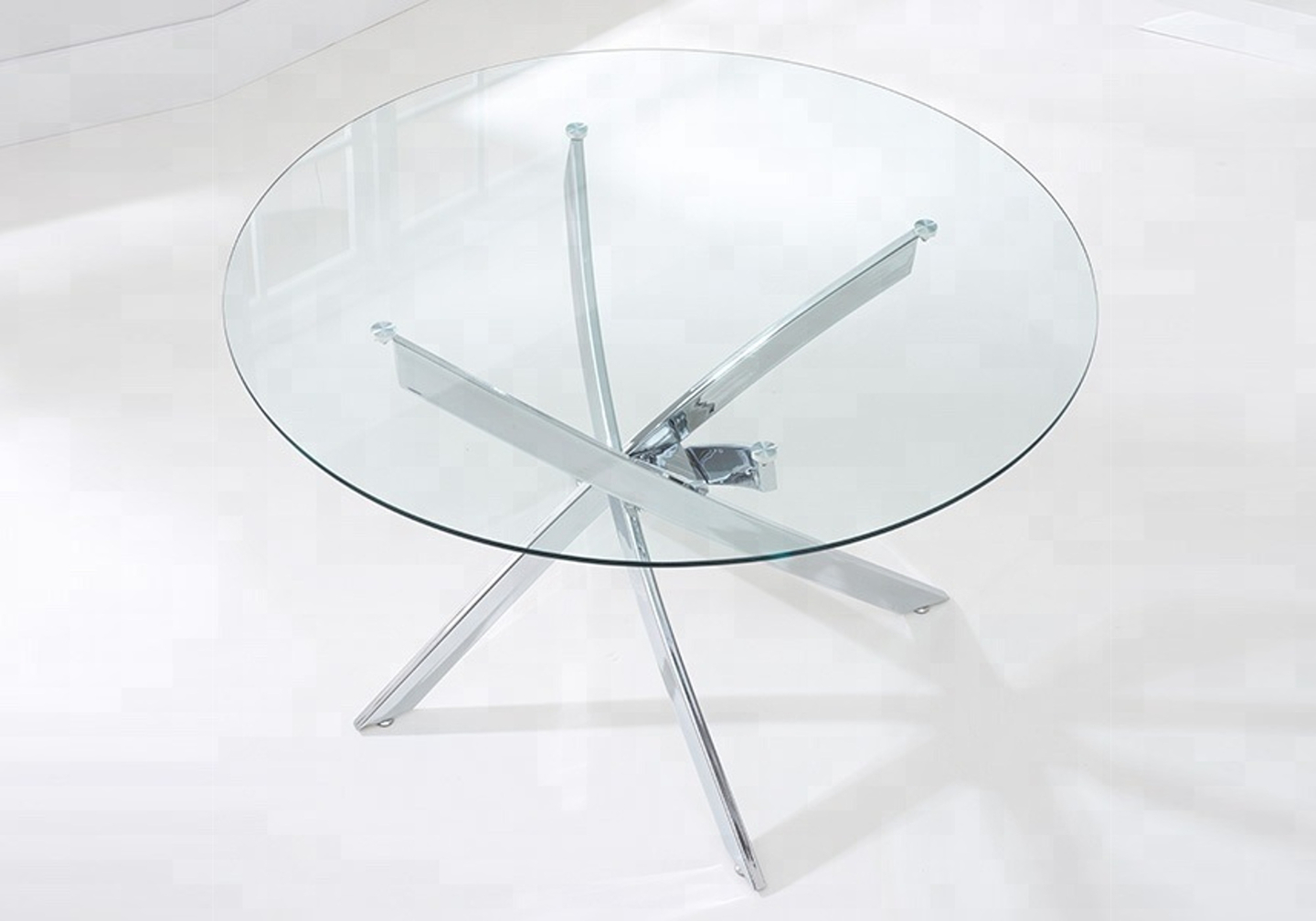 Table manger ronde chromé DESIGN-A.6