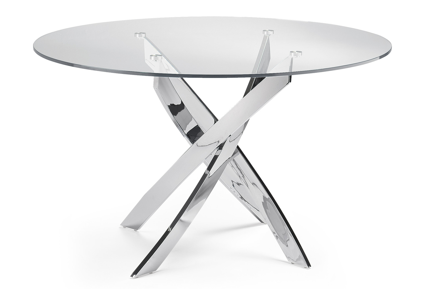 Table manger ronde chromé DESIGN-A.8