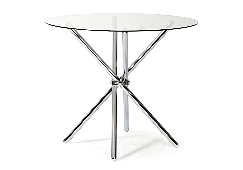 Table manger ronde chromé JOY