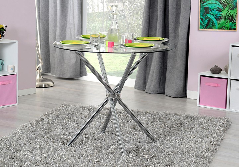 Table manger ronde chromé JOY-10