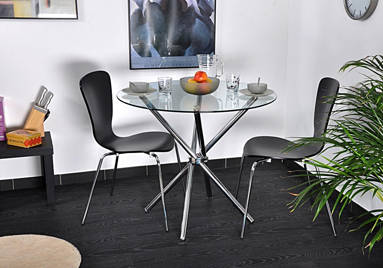 Table manger ronde chromé JOY-22