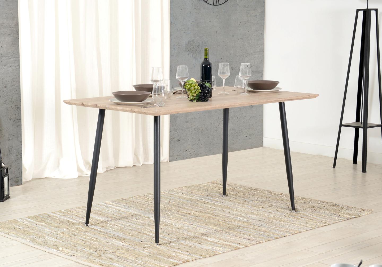 Table manger scandinave chêne LOA.5