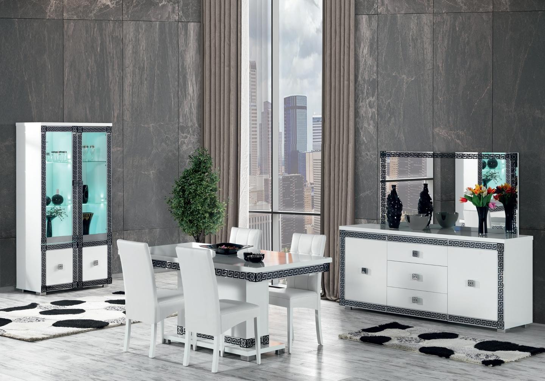 salle-a-manger-versace-blanc-chrome